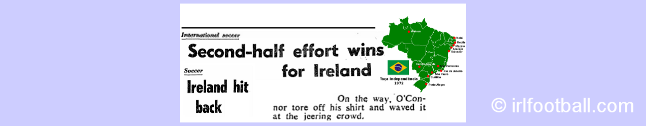 Ireland in the Mini World Cup in Brazil, 1972