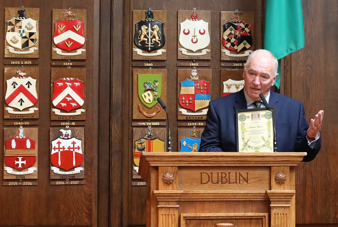 20180602 - Thomas Hynes honoured at Mansion House - IMG_1454